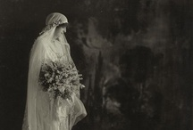 Vintage wedding photographs / I'm obsessed with vintage wedding gowns and I collect vintage wedding photographs!