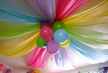 Party Decor Ideas / Pretty ideas for decorating my next event, or yours! / by Chrissy
