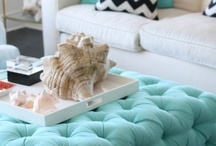 Interior Design Ottoman love / For the love of stools and ottomans