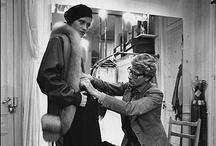 """Yves Saint Laurent / """"Rien n´est plus beau qu´un corps nu. Le plus beau vêtemen qui puisse habiller une femme ce sont les bras de l´homme qu´elle aime. Mais pour celles qui n´ont pas en la chance de trouver ce bonheur, je suis là."""" Yves Saint Laurent"""