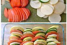 From the Garden-tomato & zucchini / by Jennifer Thomson