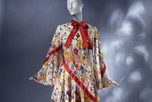 Ossie Clark Fashion / Vintage Fashion from Ossie Clark and textile designer Celia Birtwell