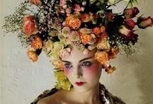 Fashion flowering heads