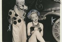 Vintage Fashion at the Circus / Vintage circus performer fashion
