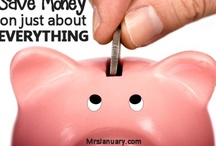 "Frugality - feed the piggy bank / ""I got my mind on my money and my money on my mind""  / by Tamara"