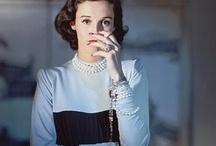 Vintage High Society fashion queens
