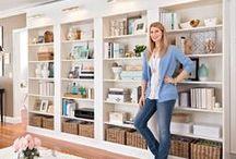 Home: Shelves, Shelves & More Shelves