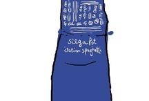 I grembiuli di Caffanella / funny .. for a humorous gift!