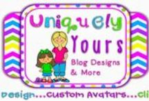 My Blog Designs / These are blogs, avatars, and clip art that I have designed or drawn.