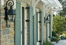 For the exterior  / Increasing our curb appeal :) / by Soleil Makin