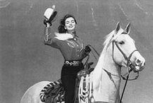Vintage Cowgirl Fashion / Vintage Cowgirls and vintage Western Wear