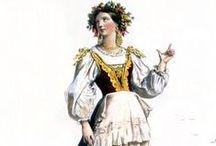 COSTUME: La Contadina / Italian peasant costume / by Ria Runkee