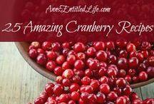 Cranberries / by Sue Mistler