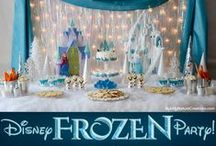 Frozen Party / A multitude of Frozen party ideas! / by Chrissy