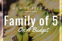 Family Budgeting tips / Tips to save and budget $money$ with a large family