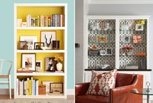 Home {Shelving Lighting Mirrors Consoles Mantels} / by Katie Cella Malcolm