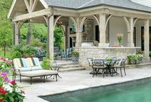 Outside / Beautiful Outside Ideas and Projects