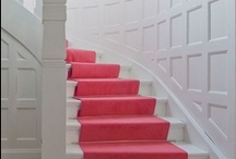 Stunning Stair Cases / One day when I live in  castle, I will have one of these staircases...so never
