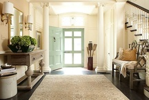 Home {Entryways Mudrooms Laundry and Hallways} / by Katie Cella Malcolm