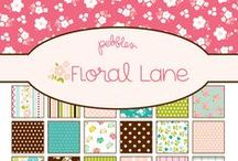 Floral Lane Collection / Floral Lane Collection, released Winter 2012. #flowers #papercrafts #scrapbooking / by Pebbles Inc.