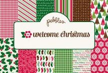 Welcome Christmas Collection / Welcome Christmas Collection by Pebbles, Inc. #christmascraft #santaclause #papercrafts #scrapbooking / by Pebbles Inc.