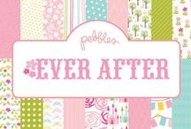 Ever After Collection / Ever After Collection, released by Pebbles, Inc. #scrapbooking #DIY #paperproducts / by Pebbles Inc.