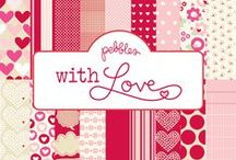 With Love Collection / With Love Collection, released Winter 2012. #love #scrapbooking #hearts #papercrafts / by Pebbles Inc.