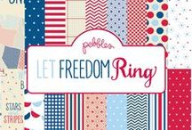 Let Freedom Ring Collection / Let Freedom Ring Collection, Released Summer 2012. #4thofjuly #scrapbooking #papercrafts / by Pebbles Inc.