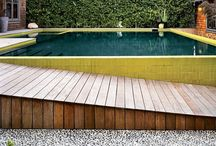 out: at the pool house. / by Briee Della Rocca