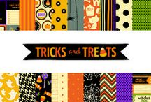 Tricks and Treats Collection / Tricks and Treats collection, released summer 2012 #paper #craft / by Pebbles Inc.