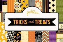 Tricks and Treats Collection / Tricks and Treats collection, released summer 2012 #paper #craft #trickortreat #halloween / by Pebbles Inc.