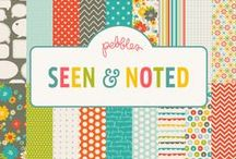 Seen & Noted Collection / Seen & Noted collection, released summer 2012 by Pebbles, Inc. #paper #papercraft #cardmaking #scrapbooking  / by Pebbles Inc.