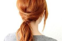 """Hair to Combat """"Crack Ponytail"""" / Tips and tutorials for good hair. / by Pregnant Chicken"""