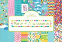 Party by Amy Locurto Collection / Party by Amy Locurto released by Pebbles, Inc. Winter 2013. @livinglocurto #amylocuto #party #DIY #craft #papercraft #scrapbooking / by Pebbles Inc.