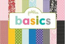 Pebbles Basics Collection / Pebbles Basics collection, released Winter 2014. #scrapbooking #papercrafts #DIY / by Pebbles Inc.