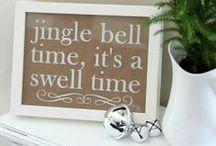 jingle bells / Christmas decor, recipes, to dos, future kid ideas, etc.