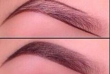 Beauty Tips/Aids / Shaping your eye brows  / by Lisa McNair