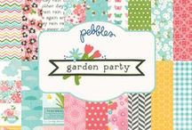 Garden Party Collection / Recall warm spring afternoons with Garden Party a paper collection released by @Pebblesinc winter 2014  / by Pebbles Inc.