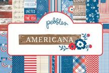 Americana Collection / Projects featuring items from the Americana collection released January 2014.  / by Pebbles Inc.