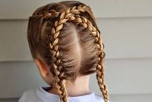 Kid Hair / Tricks, tips and styles for children's hair / by Pregnant Chicken