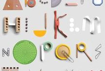 A L P H A B E T / alphabet + type + numbers + letters + typography