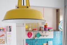 I N T E R I O R S / interiors + living spaces + colourful homes
