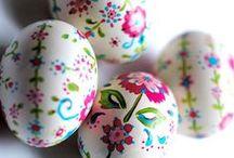 Velikonoce | Easter / Zdobení velikonočních vajíček, nápady na velikonoční dekorace doma i na zahradě.
