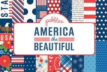 America the Beautiful / Let your freedom ring as you celebrate your country pride with Pebbles' newest collection, America the Beautiful. This patriotic line is perfect for yummy summer picnics, fun hometown parades, and stunning nighttime firework shows. / by Pebbles Inc