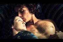 Outlander (oh my...!!!) / Never read this series of books or heard of Outlander before seeing the  TV series May 2016...its an intriguing blend of Barbara Cartland romance with Marquis de Sade elements....rivetting! As a happily married woman in my late 50s I'm bashful about this girlish crush fantasy...