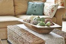 Dough Bowl Decor / Decorating with Dough Bowls