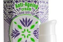 Anti-Ageing Cream / Our natural active ingredients for our All-in-One Anti-Ageing Cream