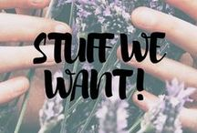 Stuff We Want! / One powerball... and this will all be ours!