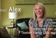 Customer Stories / See what customers have to say about using their Teeter Hang Ups Inversion Table / by TeeterHangUps