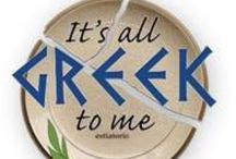 ~ YOU KNOW YOUR GREEK ~ / It's all Greek to Me / by Sjk